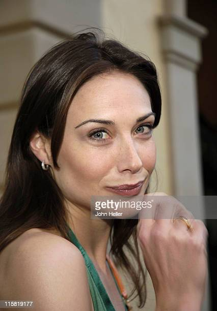 Claire Forlani during Chrysalis' Fourth Annual Butterfly Ball at Private Residence in Bel Air California United States