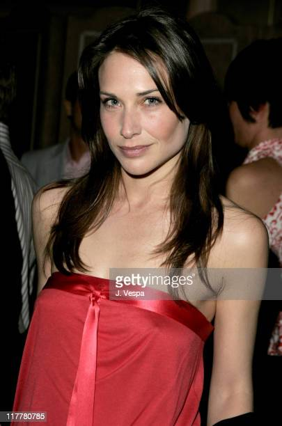 Claire Forlani during Departures Magazine Celebrates Its Los Angeles Issue at The Argyle Hotel in West Hollywood California United States