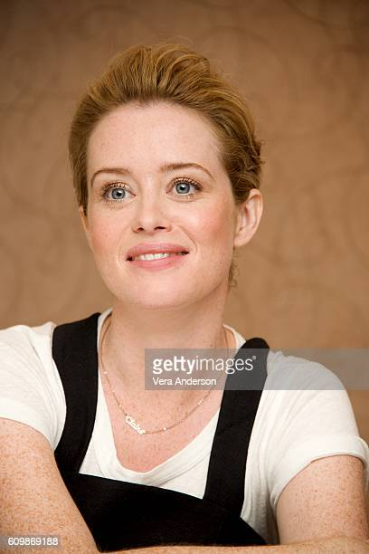 Claire Foy at 'The Crown' Press Conference at the Mayfair Hotel on September 22 2016 in London England