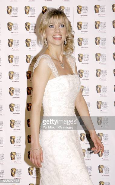 Claire Goose at the British Academy Television Awards held at the London Palladium central London PRESS ASSOCIATION Photo Picture date Sunday 20 May...
