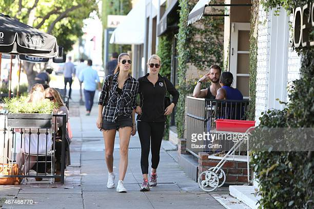 Claire Holt is seen in Hollywood on March 24 2015 in Los Angeles California