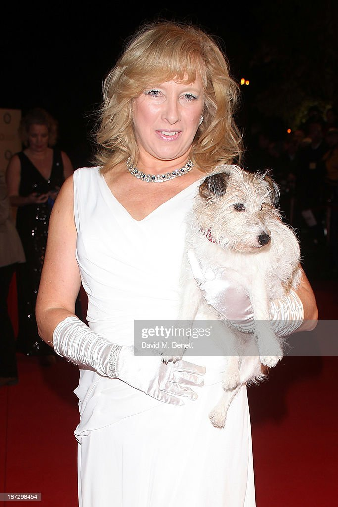 Claire Horton attends the annual Collars and Coats gala ball in aid of Battersea Dogs & Cats home at Battersea Evolution on November 7, 2013 in London, England.