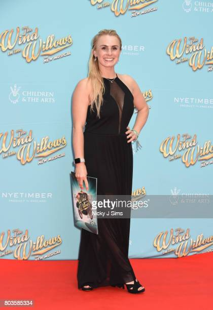 Claire Jones attends the Gala performance of Wind In The Willows at London Palladium on June 29 2017 in London England