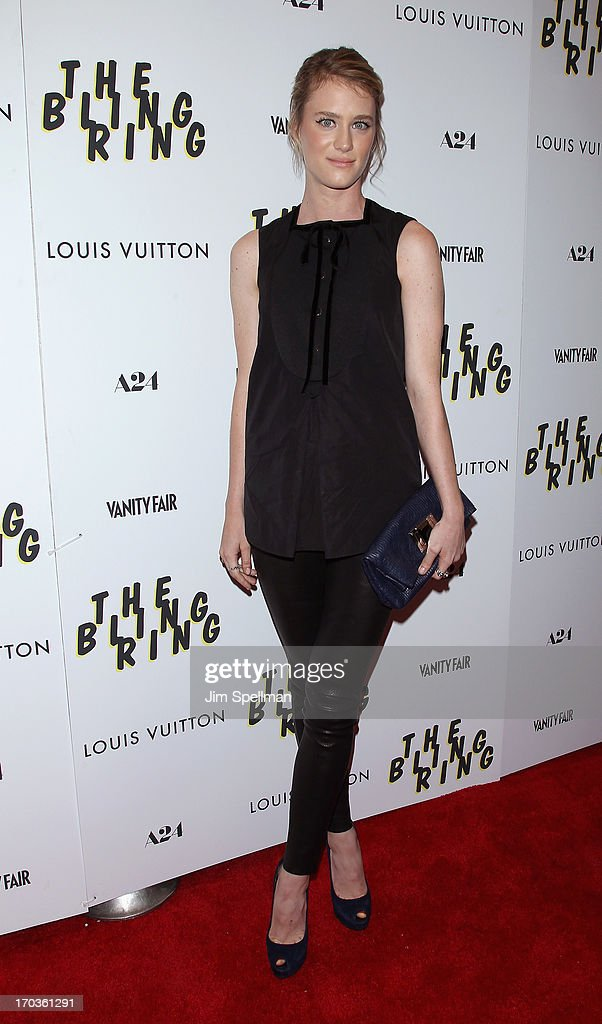 Claire Julien attends the 'The Bling Ring' New York Screening at the Paris Theatre on June 11 2013 in New York City
