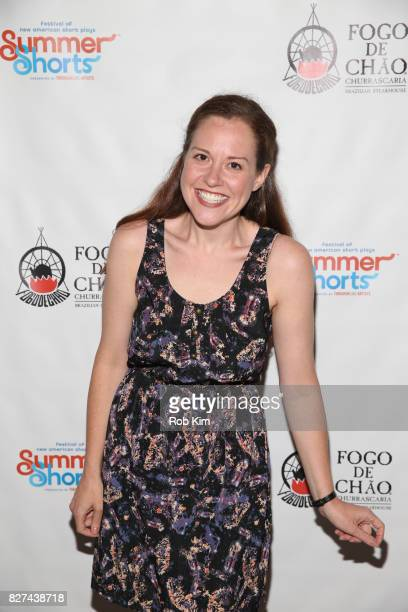 Claire Karpen attends the OffBroadway opening night party for 'SUMMER SHORTS 2017' at Fogo de Chao Churrascaria on August 7 2017 in New York City