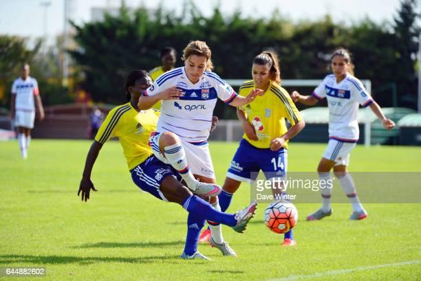 ZOUGA / Claire LAVOGEZ VGA Saint Maur / Lyon 1eme journee de 1er Division feminine Photo Dave Winter / Icon Sport