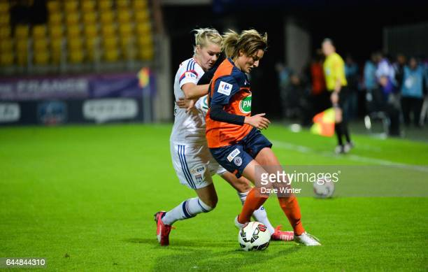 Claire LAVOGEZ / Lara DICKENMANN Montpellier / Lyon Finale Coupe de France Calais Photo Dave Winter / Icon Sport