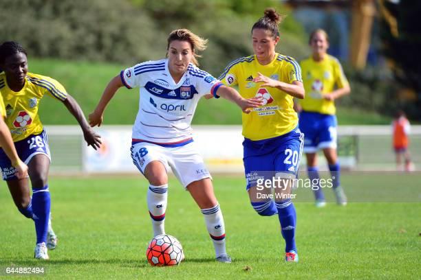 Claire LAVOGEZ / Lilia BOUMRAR VGA Saint Maur / Lyon 1eme journee de 1er Division feminine Photo Dave Winter / Icon Sport