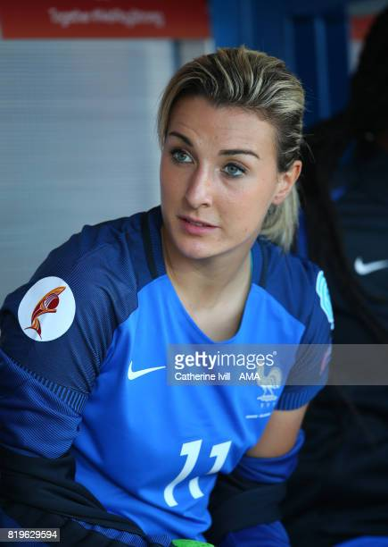 Claire Lavogez of France Women during the UEFA Women's Euro 2017 match between France and Iceland at Koning Willem II Stadium on July 18 2017 in...