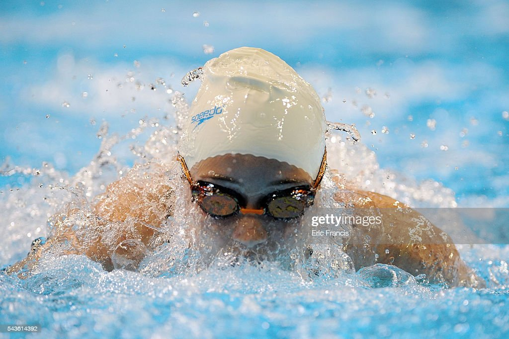 Claire McIlmail competes in a preliminary heat of the Women's 200 Meter Butterfly during Day 4 of the 2016 U.S. Olympic Team Swimming Trials at CenturyLink Center on June 29, 2016 in Omaha, Nebraska.