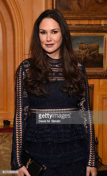 Claire Merry attends as mothers2mothers celebrates 15 years of Wonder Women at Annabel's on November 9 2016 in London England
