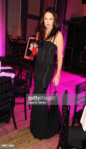 Claire Merry attends the Mummy Rocks party in aid of the Great Ormond Street Hospital Children's Charity at the Bloomsbury Ballroom on March 24 2010...