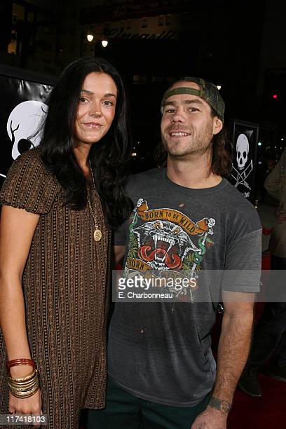 Claire Nolan and Chris Pontius during World Premiere of Paramount Pictures' 'Jackass Number Two' at Grauman's Chinese Theatre in Los Angeles...