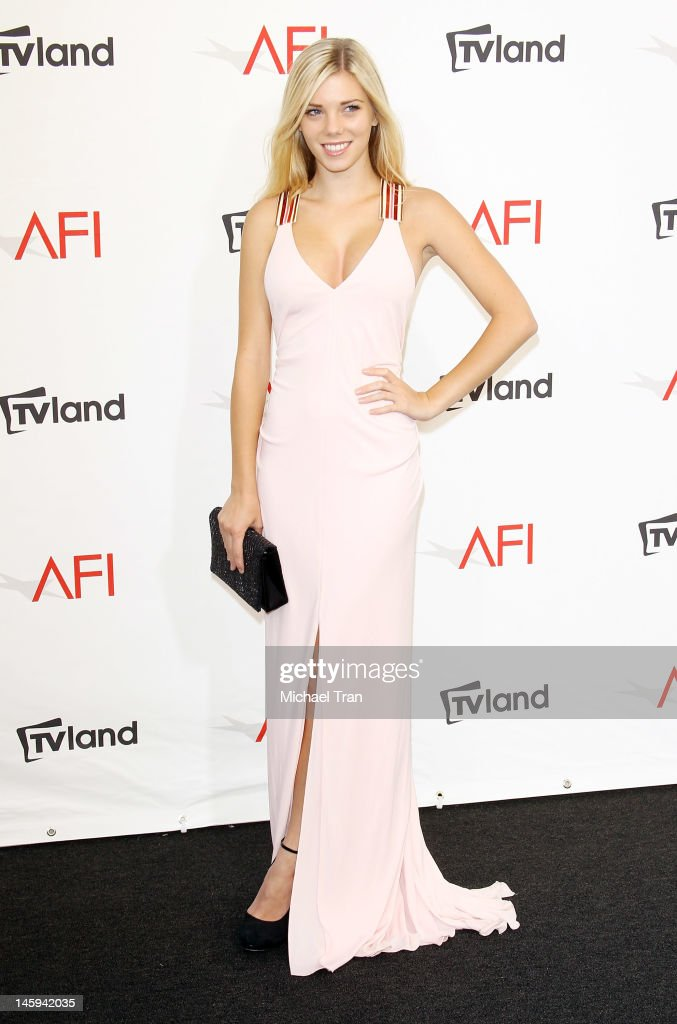 Claire Pfister arrives at TV Land Presents: AFI Life Achievement Award honoring Shirley MacLaine held at Sony Studios on June 7, 2012 in Los Angeles, California.