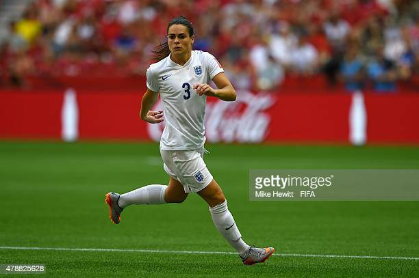 Claire Rafferty of England in action during the FIFA Women's World Cup 2015 Quarter Final match between England and Canada at BC Place Stadium on...
