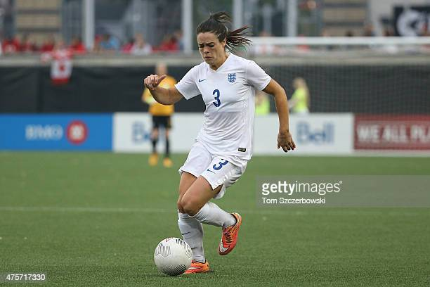 Claire Rafferty of England runs with the ball against Canada during their Women's International Friendly match on May 29 2015 at Tim Hortons Field in...