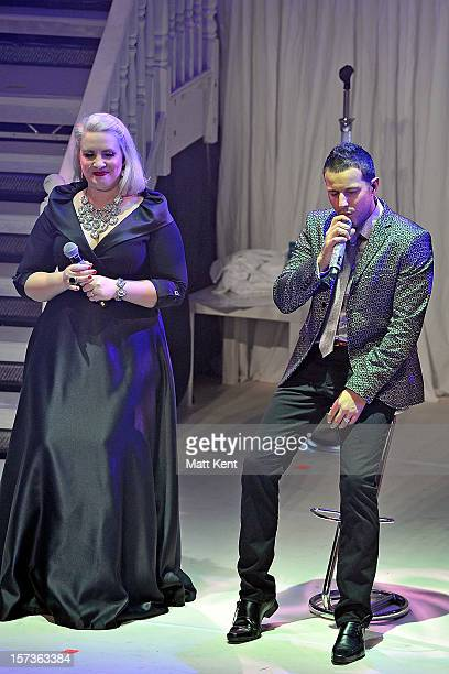 Claire Richards and Lee LatchfordEvans of Steps performs at London Palladium on December 2 2012 in London England