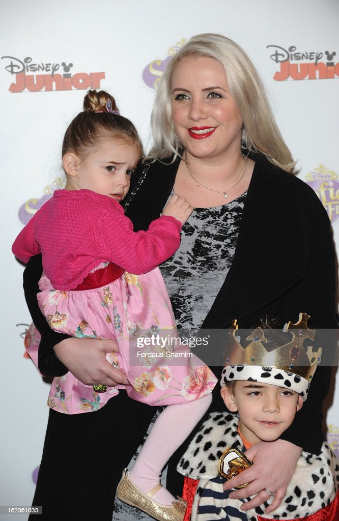 <a gi-track='captionPersonalityLinkClicked' href=/galleries/search?phrase=Claire+Richards&family=editorial&specificpeople=216222 ng-click='$event.stopPropagation()'>Claire Richards</a> attends the launch screening of Sofia The First at May Fair Hotel on February 22, 2013 in London, England.