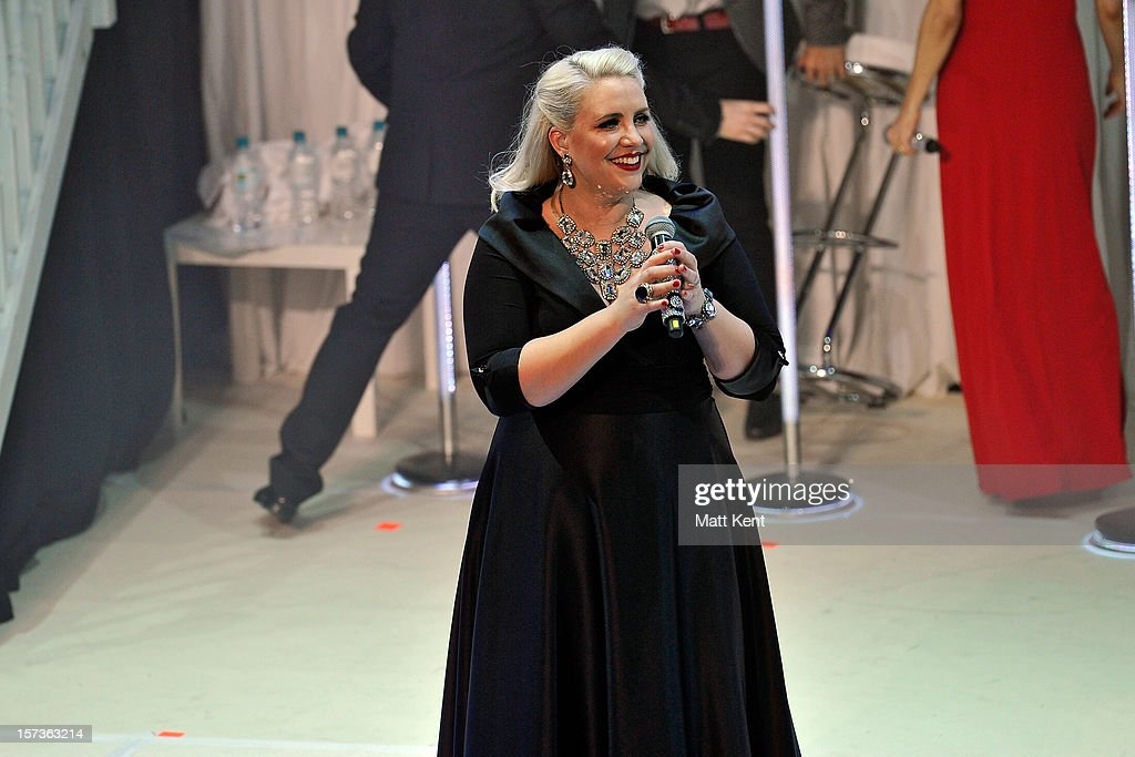 Claire Richards of Steps performs at London Palladium on December 2, 2012 in London, England.