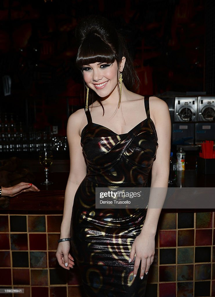 Claire Sinclair attends the opening of Rock Of Ages at The Venetian on January 5, 2013 in Las Vegas, Nevada.