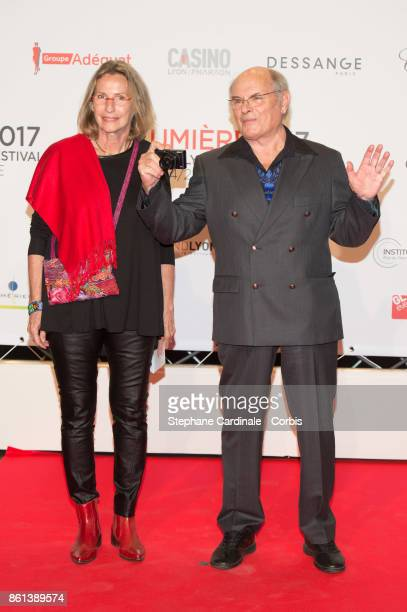 Claire Stevenin and Jean Francois Stevenin attend the Opening Ceremony of the 9th Film Festival Lumiere on October 14 2017 in Lyon France
