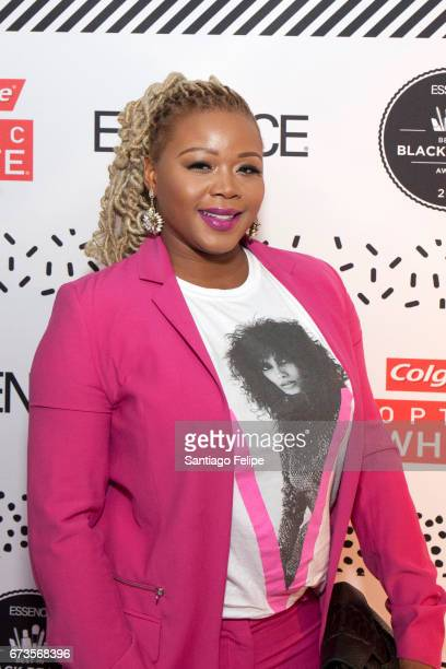 Claire Sulmers attends The 2017 ESSENCE Best in Black Beauty Awards at Sugar Factory NYC on April 26 2017 in New York City