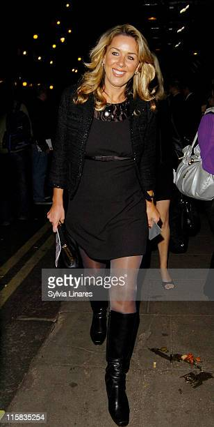 Claire Sweeney attending The Musical Rent Press Night At The Duke Of York Theatre on october 15 2007 in London England