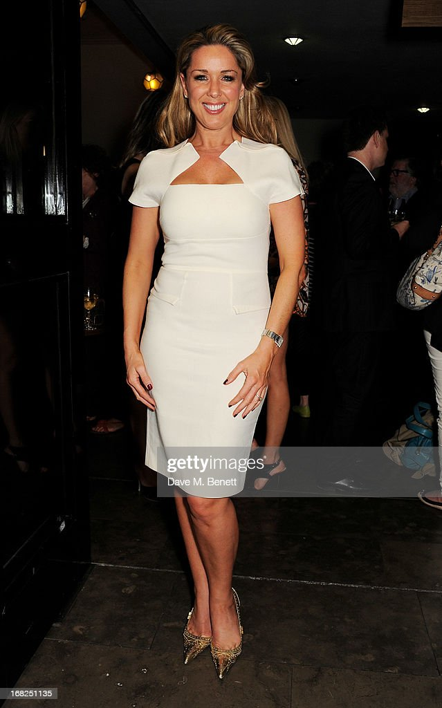 Claire Sweeney attends an after party following the press night performance of 'Passion Play' at The National Gallery on May 7, 2013 in London, England.