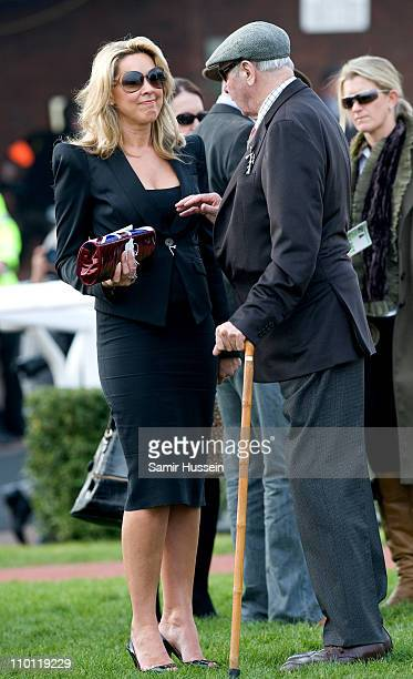 Claire Sweeney attends Day 1 of the Cheltenham Festival at Cheltenham Racecourse on March 15 2011 in Cheltenham England