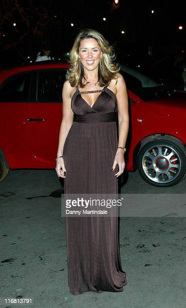 Claire Sweeney attends the Save the Children's Festival of Trees Gala Dinner at Natural History Museum December 04 2007 in London England