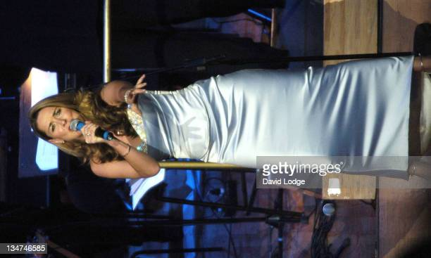 Claire Sweeney during 2004 BBC Children In Need Gala at Royal Festival Hall in London Great Britain