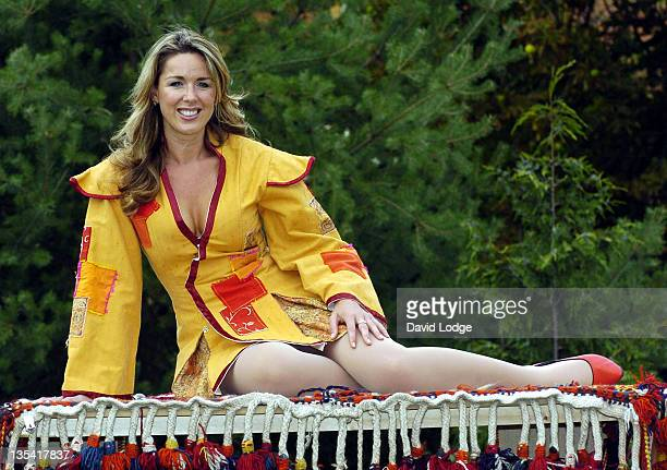 Claire Sweeney during 'Aladdin and His Magic Lamp' London Photocall at New Wimbledon Theatre in London Great Britain