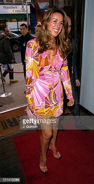 Claire Sweeney during 'Cafeteria' Launch Party Arrivals at Cafeteria in London Great Britain