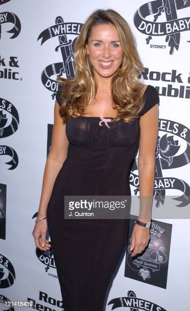 Claire Sweeney during De Keyser Fashion Christmas Party at Pangaea Nightclub in London Great Britain