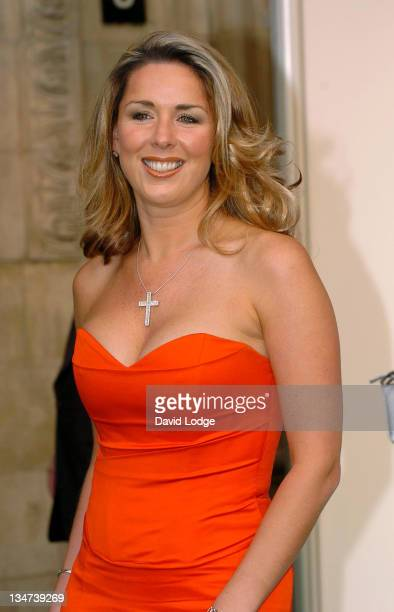 Claire Sweeney during Dream Auction FULL STOP VIP Party Outside Arrivals at Royal Albert Hall in London Great Britain