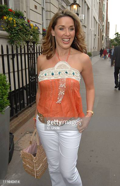 Claire Sweeney during 'Loose Women' TV Wrap Party at Courthouse Hotel Kempinski in London Great Britain