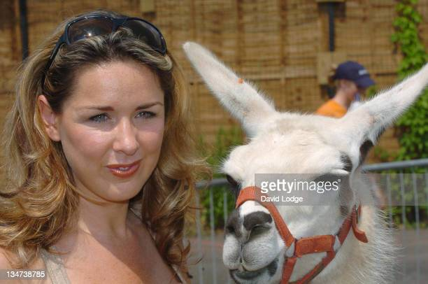 Claire Sweeney during The 18th Amazing Great Children's Party at Battersea Park in London Great Britain