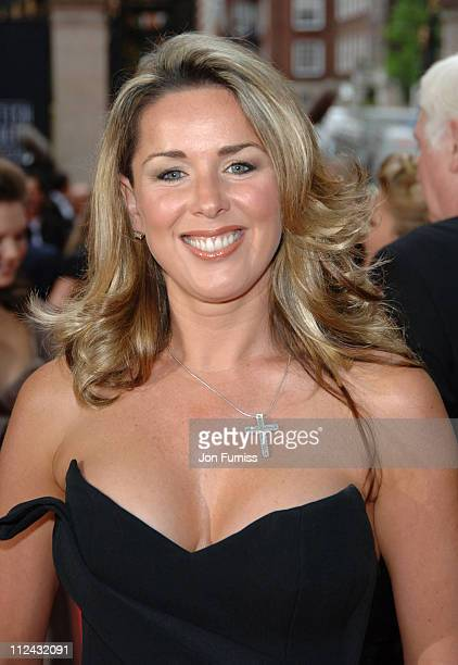 Claire Sweeney during The 2006 British Academy Television Awards Arrivals at Grosvenor House in London Great Britain