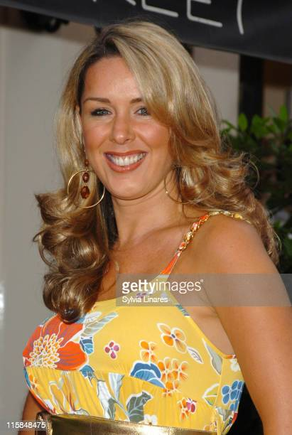 Claire Sweeney during The Dover Street Dinner 2007 at Dover Street Restaurant and Bar in London May 15 2007 at Dover Street Restaurant in London...