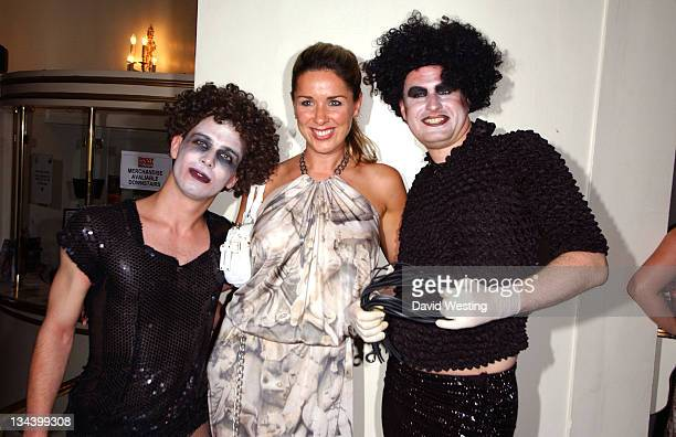 Claire Sweeney during 'The Rocky Horror Show' Opening Night Party at Wimbledon Theatre in London Great Britain