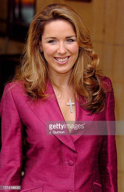 Claire Sweeney during Variety Club Tribute Lunch at The Dorchester in London Great Britain