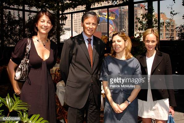 Claire Terentiev Patrice Kretz Lesley Jane Seymour and Devon Schuster attend Stephanie Seymour and Patrice Kretz Celebrate the Chantelle Ad Campaign...