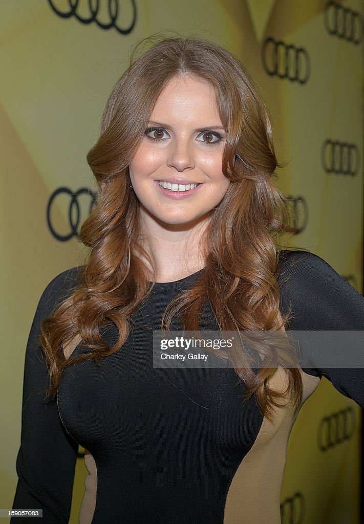 Claire Thomas attends the Audi Golden Globes Kick Off 2013 at Cecconi's Restaurant on January 6, 2013 in Los Angeles, California.