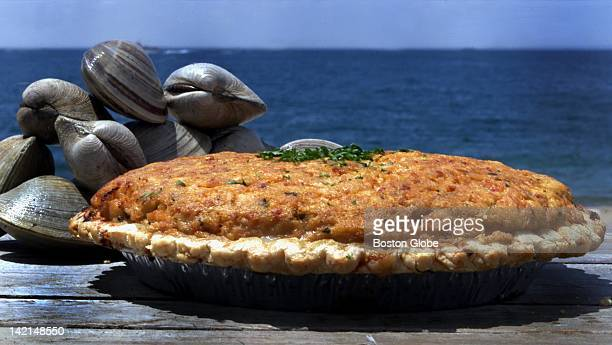 Clam pie from Clem Ursies Restaurant and Market Photo taken at Herring Cove beach