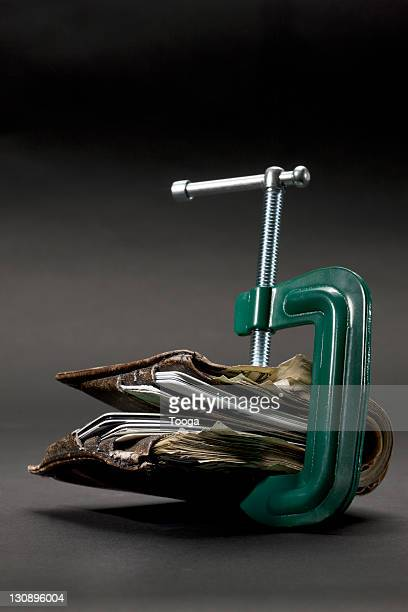 Clamp on men's wallet