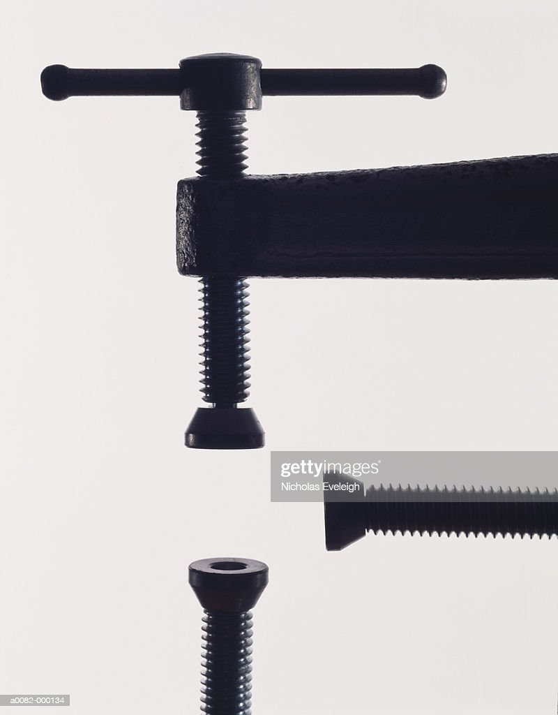 Clamps in Vise