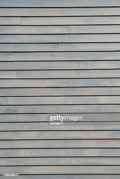 Bardeau de bois House Siding en gris