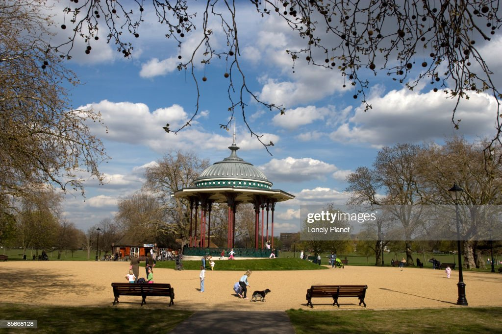 Clapham Common. : Stock Photo