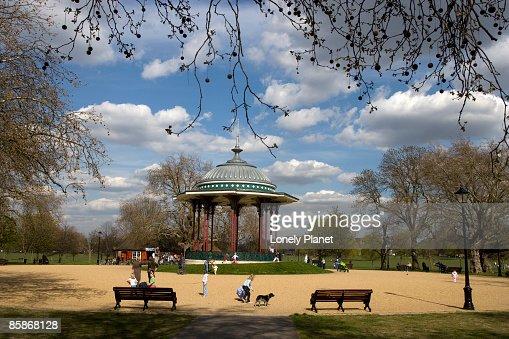 Clapham Common. : Foto stock