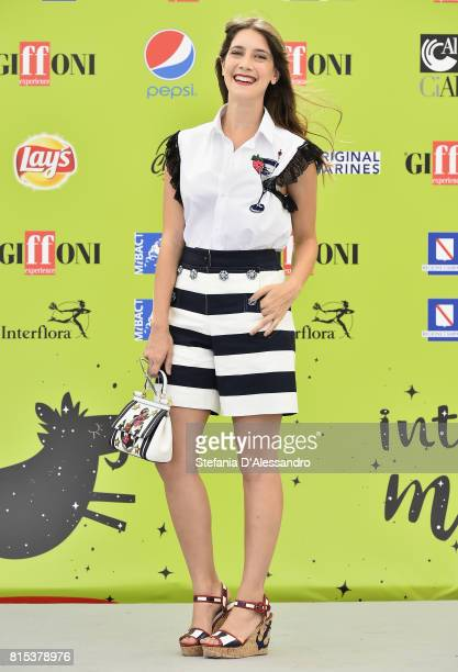 Clara Alonso attends Giffoni Film Festival 2017 Day 3 Photocall on July 16 2017 in Giffoni Valle Piana Italy